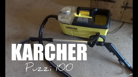 kärcher puzzi 100 karcher puzzi 100 carpet cleaner review