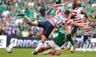 USA vs Mexico Soccer Team