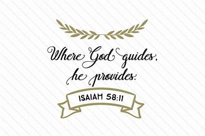God Provides Guides He Craft Svg Fabrica