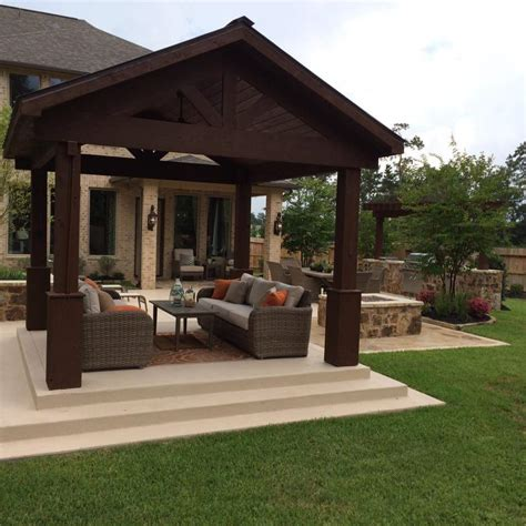 patio homes for in the woodlands tx design patio covers and pergolas in the woodlands hortus
