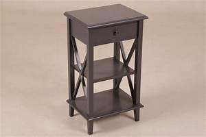 Kleiner Schreibtisch Mit Schublade : kleiner beistelltisch mit schublade in 3 farben ~ Indierocktalk.com Haus und Dekorationen