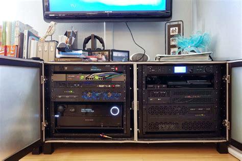 home server rack cabinet benno media center server rack ikea hackers