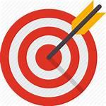 Focus Goal Icon Target Aim Icons Arrow