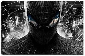 Sektgläser Schwarz Weiß : spiderman schwarz weiss motiv mit farbelementen auf leinwand im format 120x80 cm ~ Watch28wear.com Haus und Dekorationen
