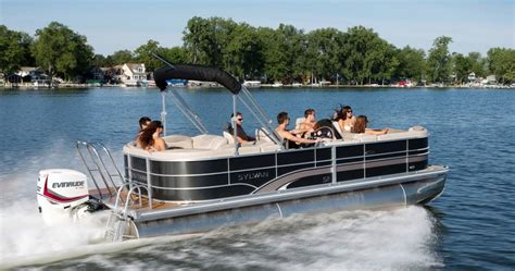 Mini Outboard Boat Motors by Find An Evinrude Dealer To You Pontoon Deck Boat