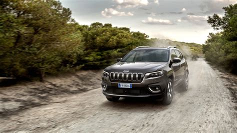 Jeep Cherokee Limited 2018 4k Wallpaper