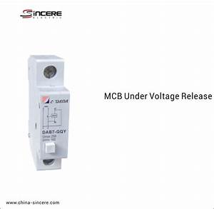 China Mcb Under Voltage Release Suppliers  Manufacturers