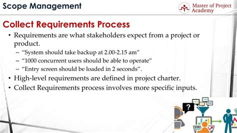 project requirements 15 tools techniques for collect requirements process master of project academy