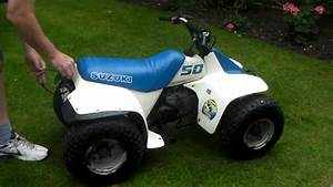 Quad Suzuki 50 : suzuki lt50 kids quad bike now sold youtube ~ Medecine-chirurgie-esthetiques.com Avis de Voitures