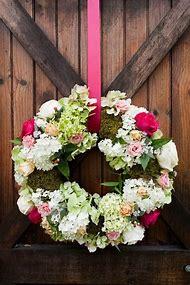 Front Door Flower Arrangement