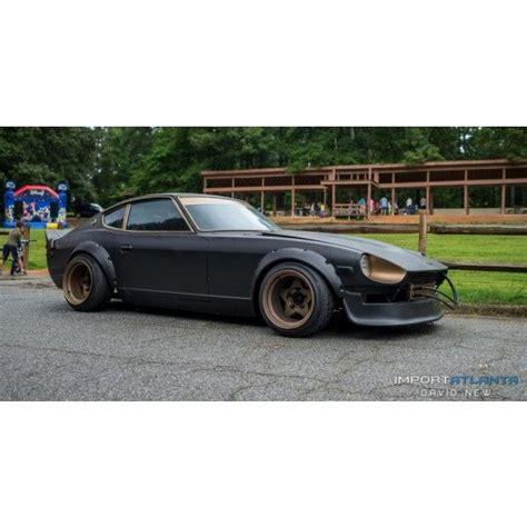 Black Datsun by Matte Black Bronze Datsun 240z 260z 280z Project Z