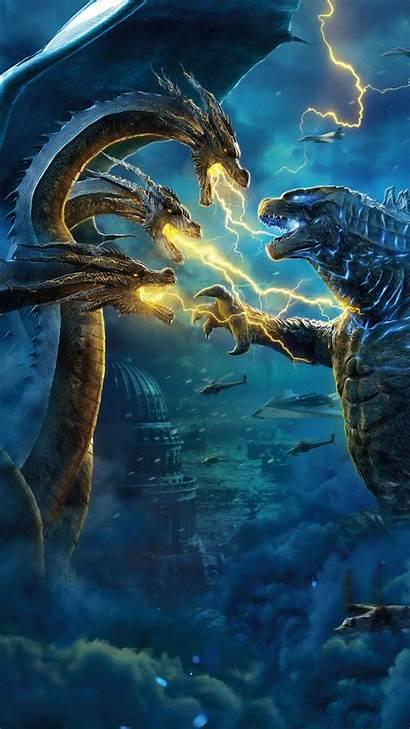 Godzilla Ghidorah King 4k Wallpapers 1080 1440