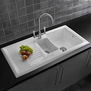 know more about your kitchen sinks With ceramic farmers sink