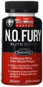 Six Star Pro Nutrition N O  Fury Pre Workout Review