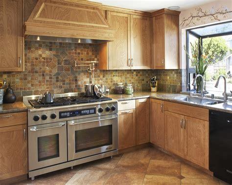 Slate Kitchen Backsplash by Slate Backsplash Tile Kitchen Traditional With Barstools