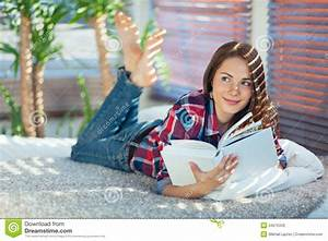 Girl with a book stock photo. Image of holding, leisure ...