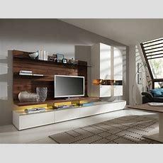 Wohnwand Für Moderne Wohnzimmer  24 Schrankwände