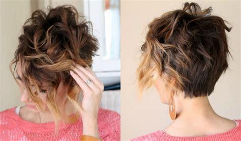 deko ideen kurze haare locken frisuren mit locken fuer