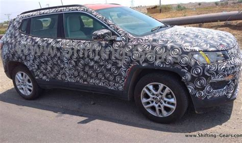 jeep crossover interior jeep compass premium suv interior spied again india