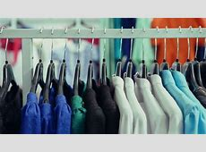 Clothing In Closet Stock Footage Video 5437007 Shutterstock