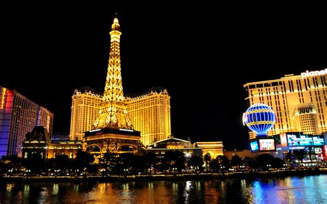 paris hotel  casino  las vegas nevada usa hd
