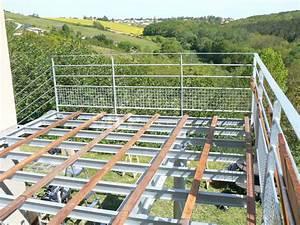 Terrasse Metallique Suspendue : r sultat de recherche d 39 images pour terrasse structure m tallique solarium escalier terrasse ~ Dallasstarsshop.com Idées de Décoration