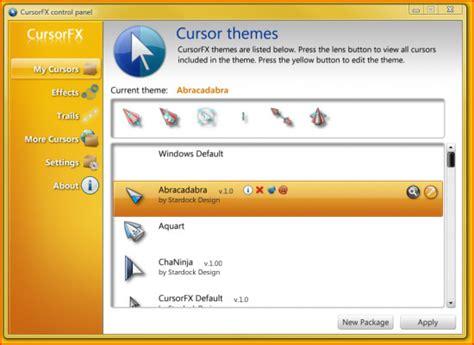 Télécharger Cursorfx 2.10 Gratuitement Pour Windows
