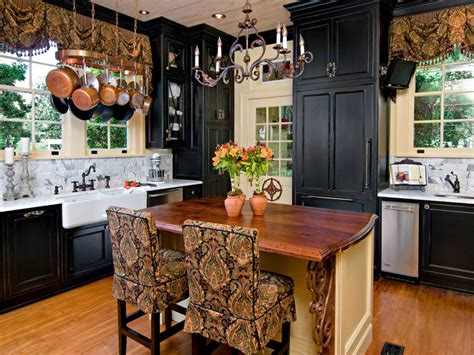 Decorating Ideas For Black Kitchen Cabinets by 24 Black Kitchen Cabinet Designs Decorating Ideas