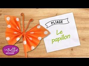 Pliage Serviette Youtube : pliage de serviette en papier papillon color youtube ~ Medecine-chirurgie-esthetiques.com Avis de Voitures