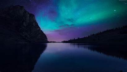 Windows Official Wallpapers Mobile 4k Night Aurora