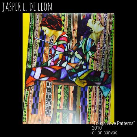 jasper de leons painting included shell calendar ateneo de