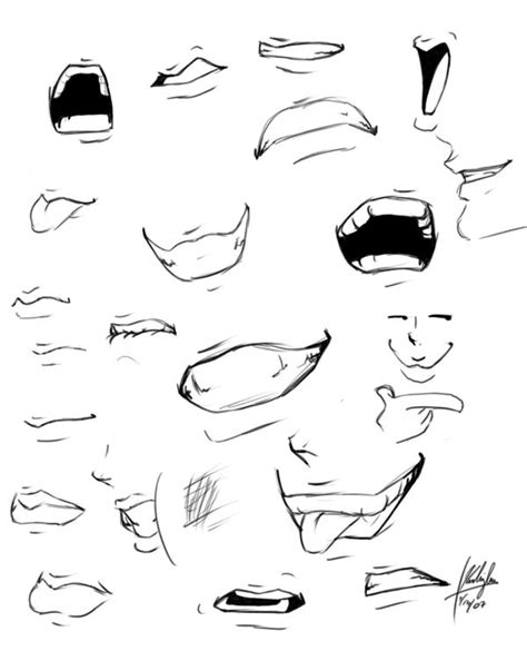 mouths oo  blasian  deviantart mouth drawing