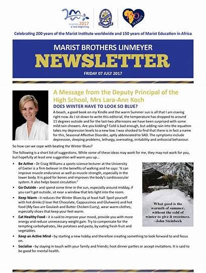 Weekly Newsletter Friday July Tracy Edwards Newsletters