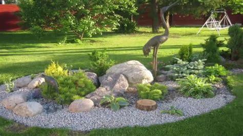 como decorar tu jardin  piedras buenas ideas youtube