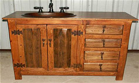 stand alone kitchen sink country bathroom vanities rustic