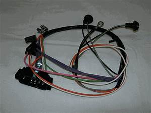 1967 Camaro Console Wiring Harness  Automatic Without