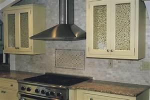 Earthy Tones Tumbled Stone Backsplash — Great Home Decor