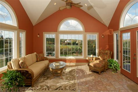 triple vaulted sunroom addition bel air construction