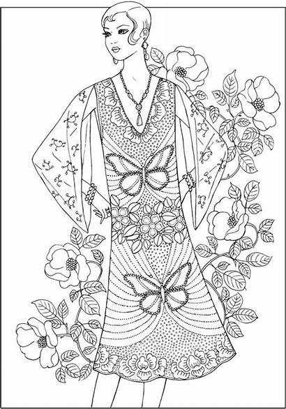 Coloring Pages Adult Dover Books Creative Haven
