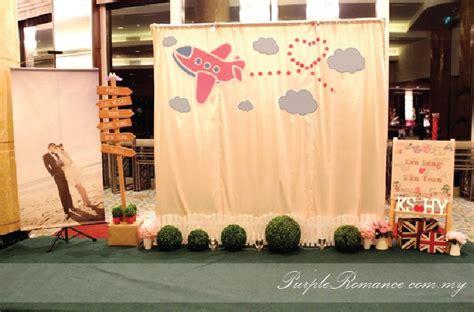 travel theme wedding decoration mandarin kuala