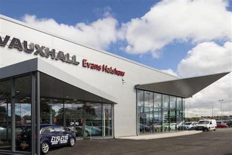evans halshaw opens  leeds vauxhall showroom car