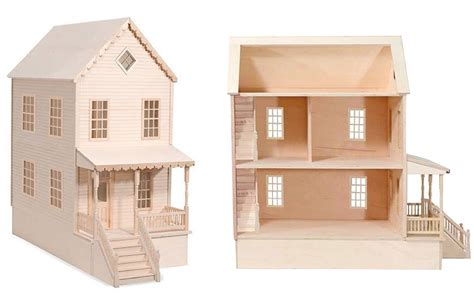woodwork plan wooden dollhouse  plans
