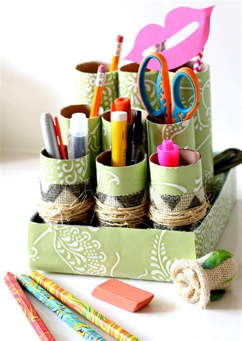 Desk Drawer Organizer Diy by Diy Desk Organizer Ideas To Tidy Your Study Room