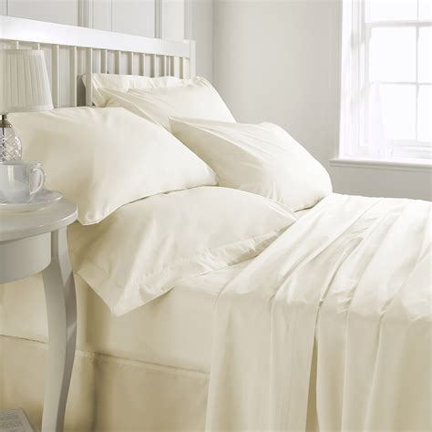 ivory duvet cover king king exclusive 200 thread count cotton