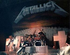 i was there!! Metallica live in 1986. | Metallica ...