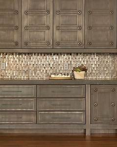 trade secrets kitchen renovations part two countertops With kitchen cabinets lowes with distressed wood and metal wall art