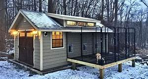diy cold weather dog house what to know With custom dog kennels designs