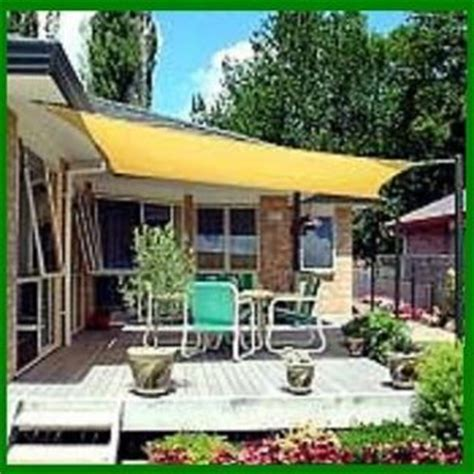 sun shade sail for patio pool tub awning deck 16