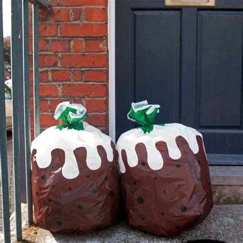 christmas pudding bin bags find me a gift