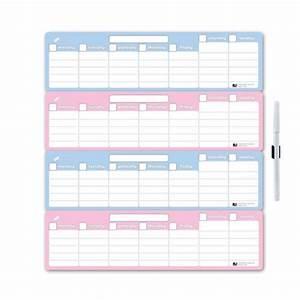 4 weekly calendar weekly calendar template With 4 week schedule template